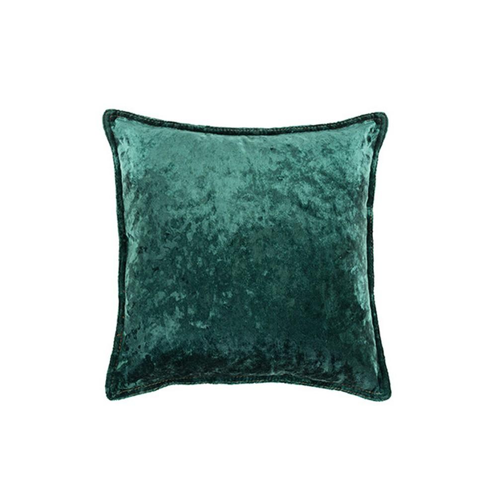 Zelený vankúš White Label Tess, 45 x 45 cm