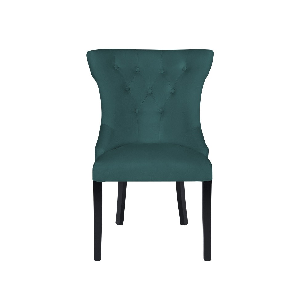 Tyrkysová stolička Micadoni Home Mero