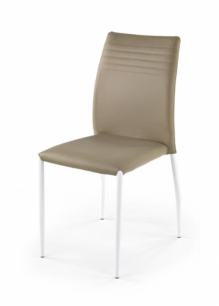 Jedálenská stolička K 168 biela + béžová