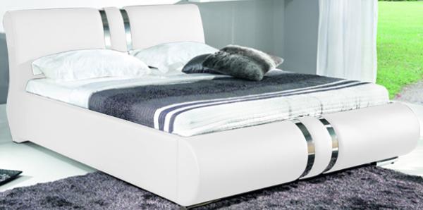 BOG-FRAN COMBI 160 posteľ s roštom - biela