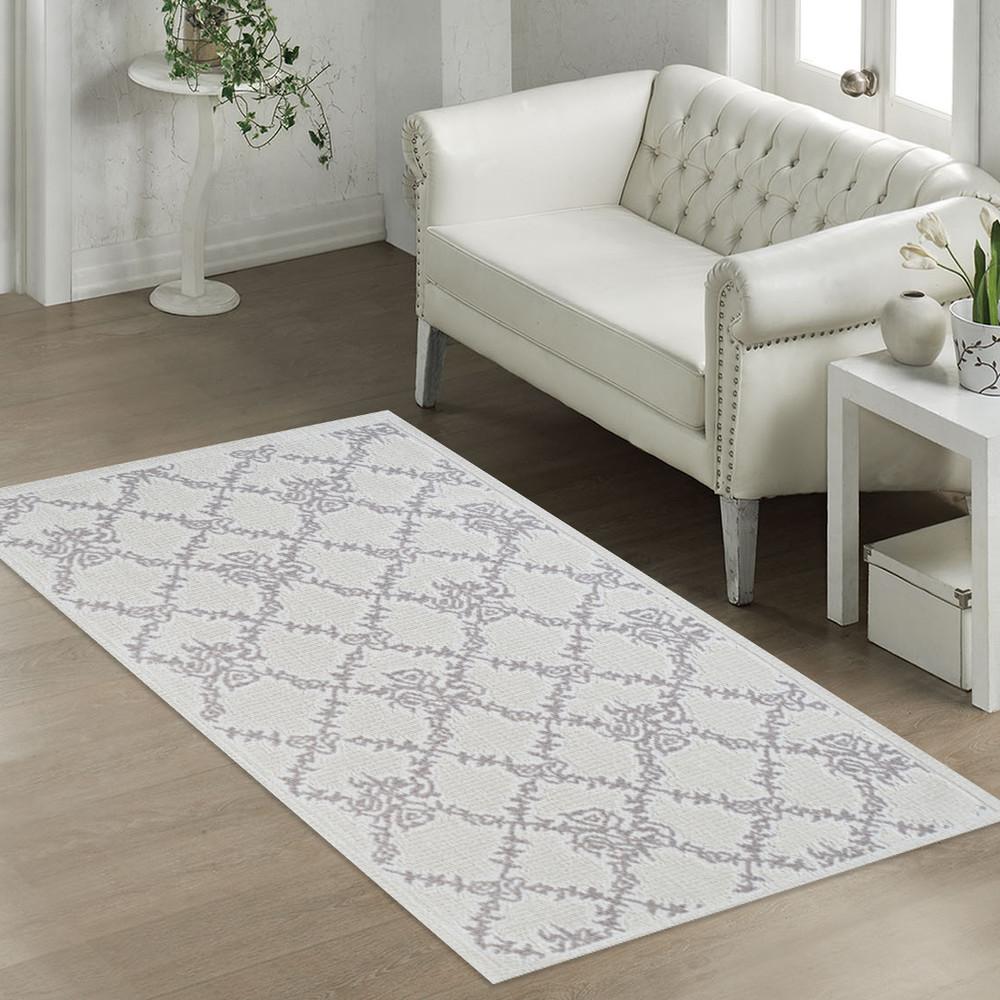 Béžový odolný koberec Vitaus Scarlett, 80x150cm