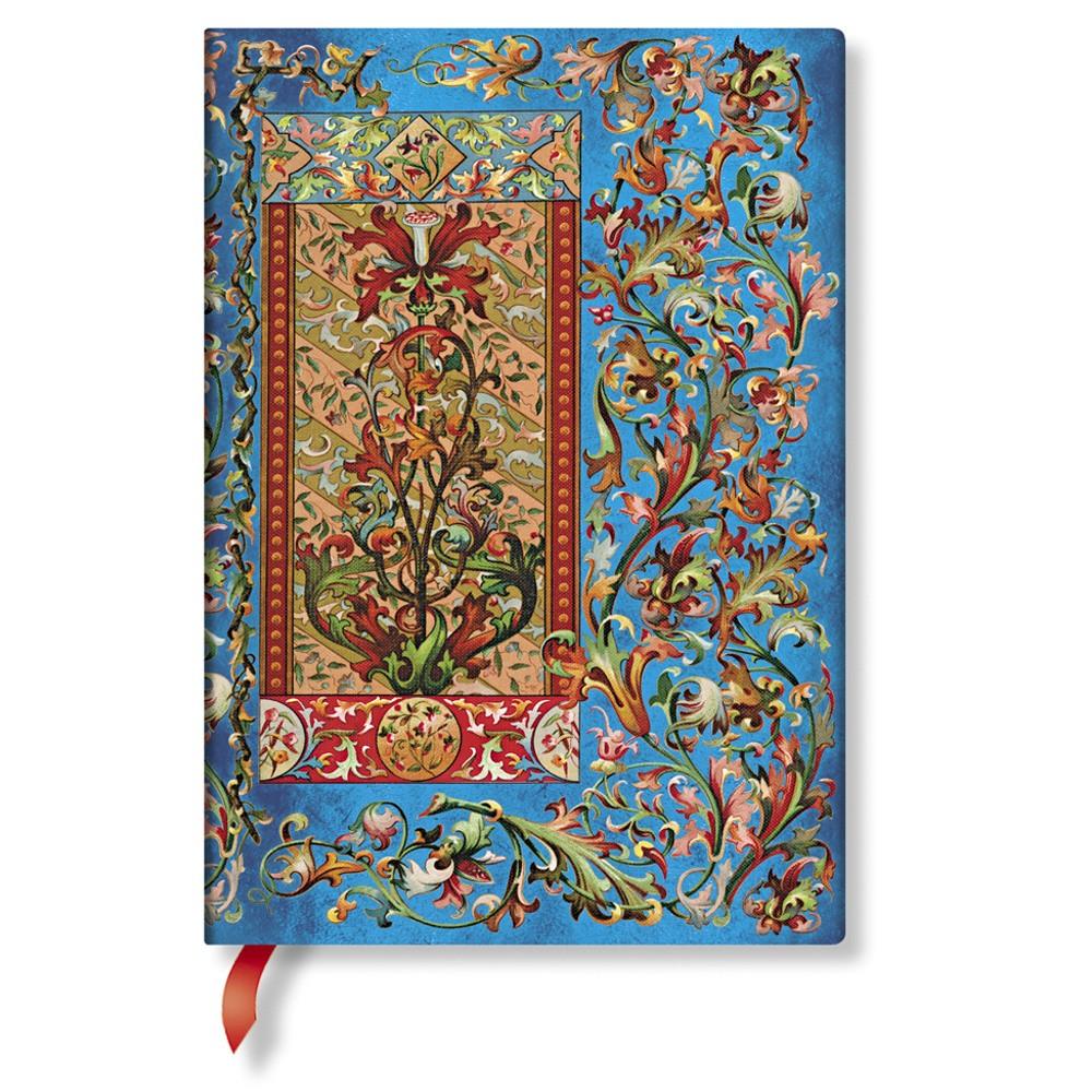 Zápisník s tvrdou väzbou  Paperblanks Delphine, 13 x 18 cm