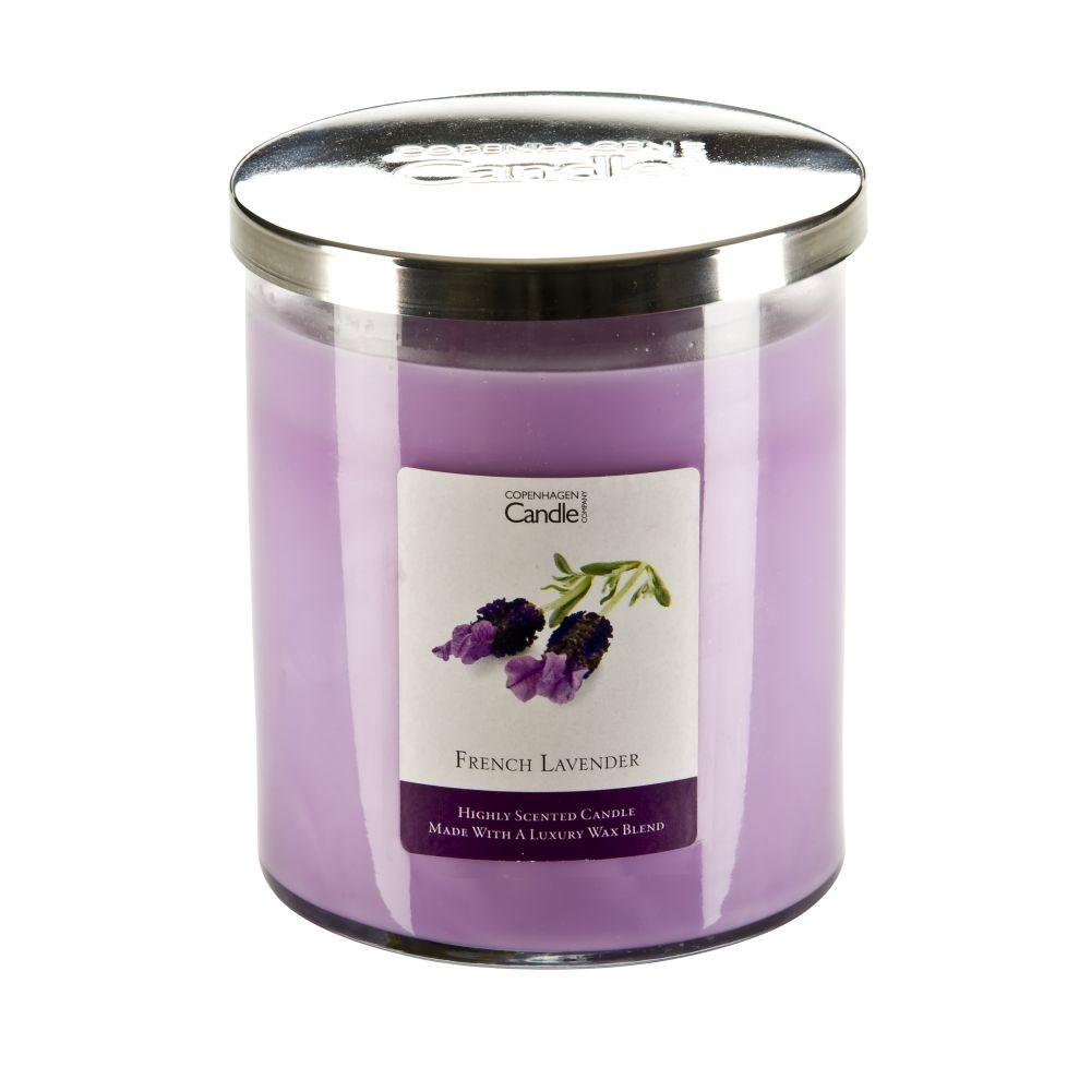 Aromatická sviečka Copenhagen Candles French Lavender, doba horenia 70hodín