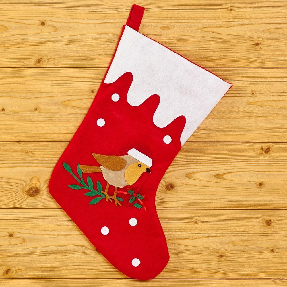Vianočná ponožka Neviti Robin