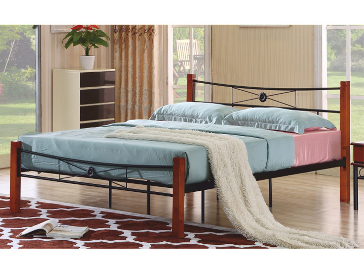 Manželská posteľ 160 cm Amarilo (s roštom)