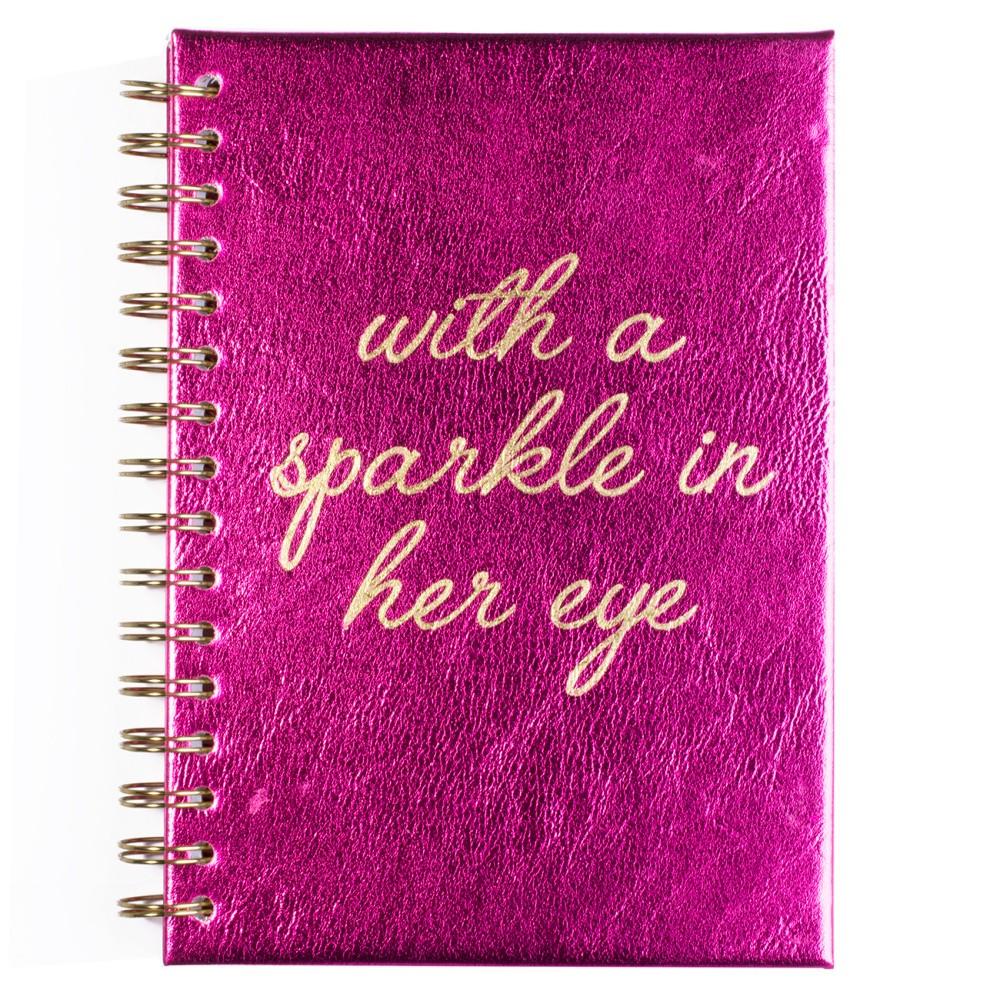 Zápisník Tri-Coastal Design With A Sparkle In Her Eyes, 120 stránok