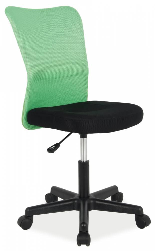 Kancelárske kreslo Q-121 (zelená + čierna)