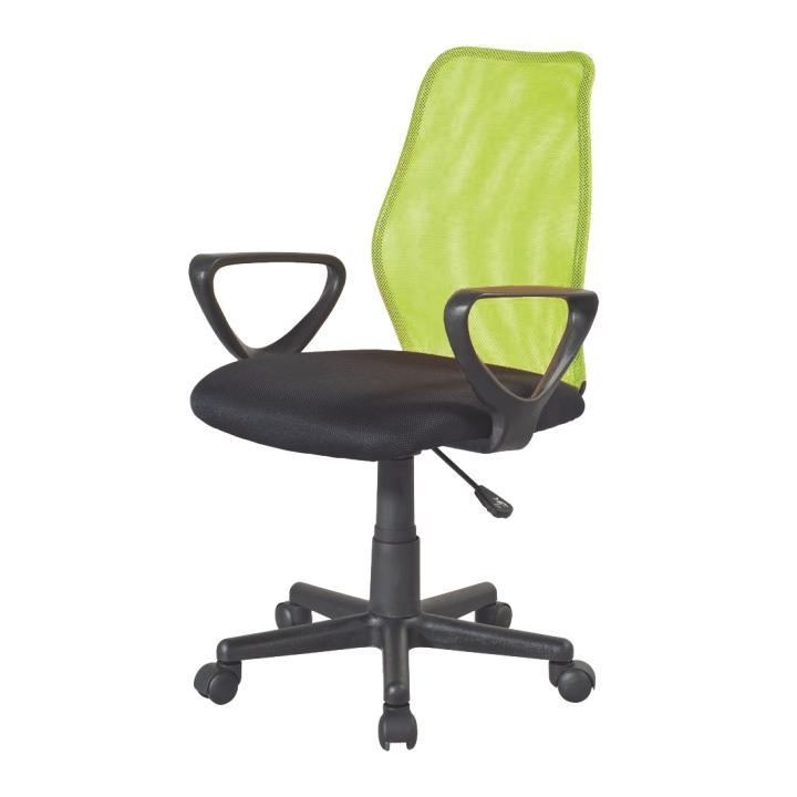 Kancelárska stolička BST 2010  TW 170 CIERNA/TW99 ZELENA