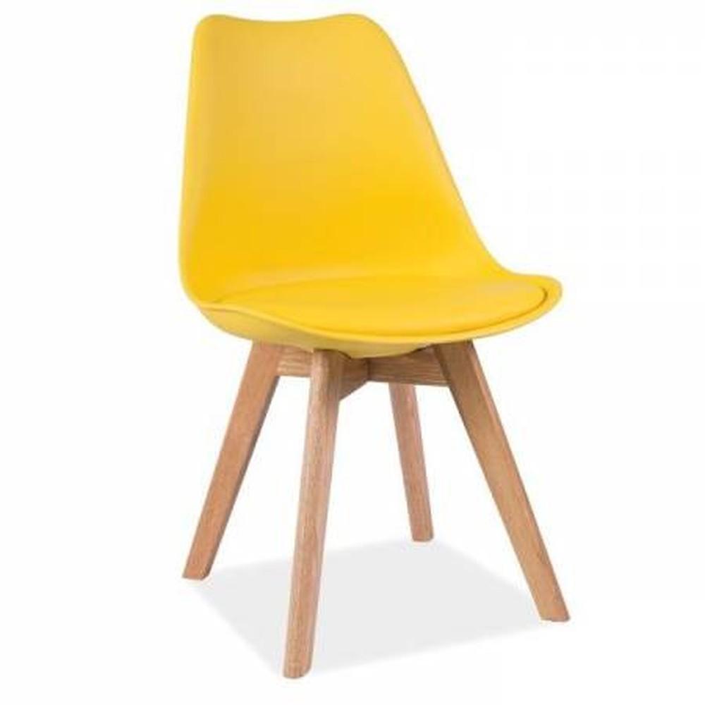 Žltá stolička loomi.design