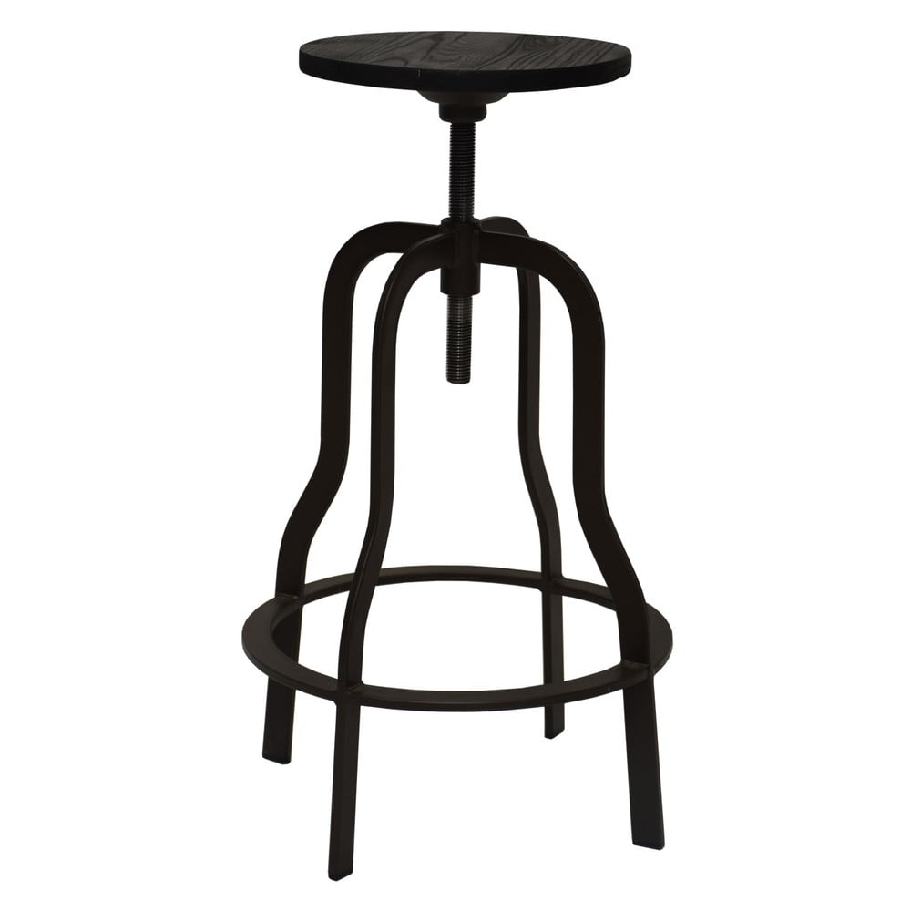 Tmavohnedá barová stolička RGE Vegas, výška 66 cm