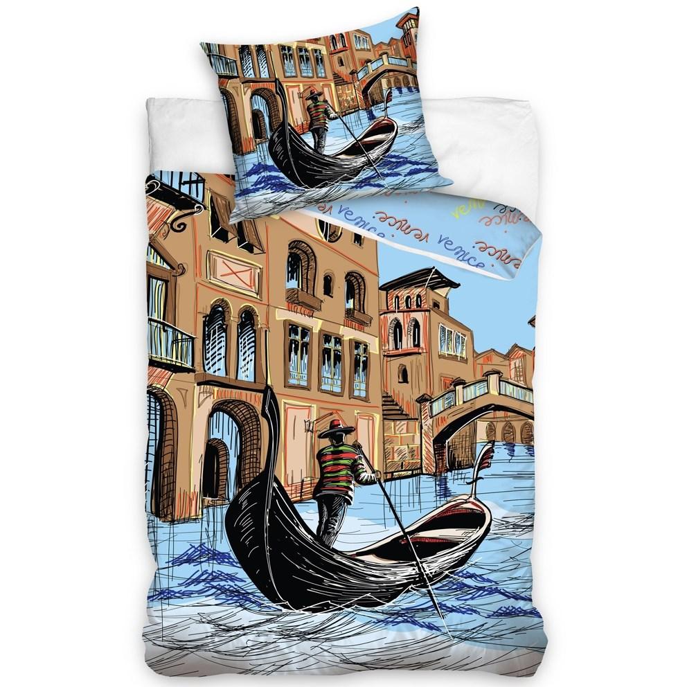 Carbotex Obliečky Benátky, 160 x 200 cm, 70 x 80 cm