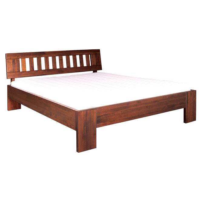Manželská posteľ 140 cm LK 193 (buk) (masív)