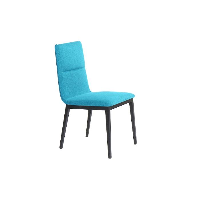 Jedálenská stolička Aslan (tyrkysová)