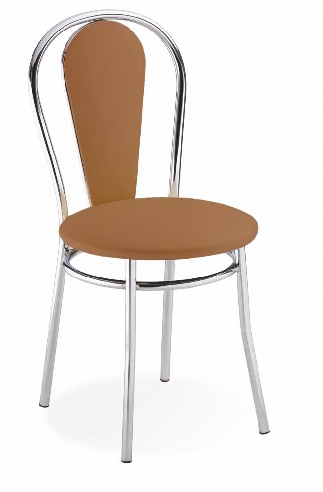 Jedálenská stolička Tulipan Plus svetlohnedá