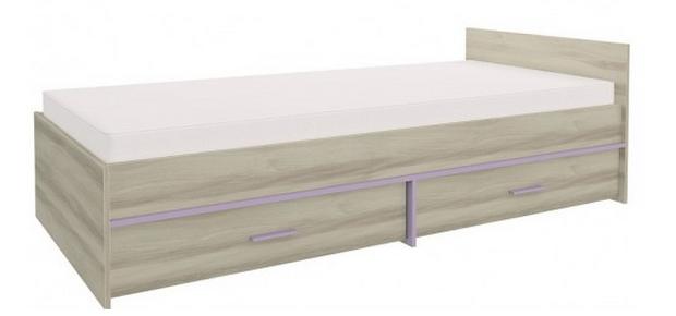 Detská posteľ GEOMETRIC 07 / BREST   Farba: Fialová