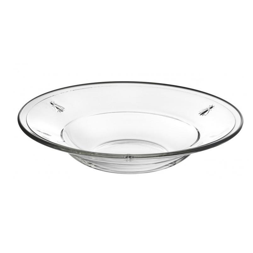 Sklenený tanier La Rochère Abeille, ⌀ 24 cm