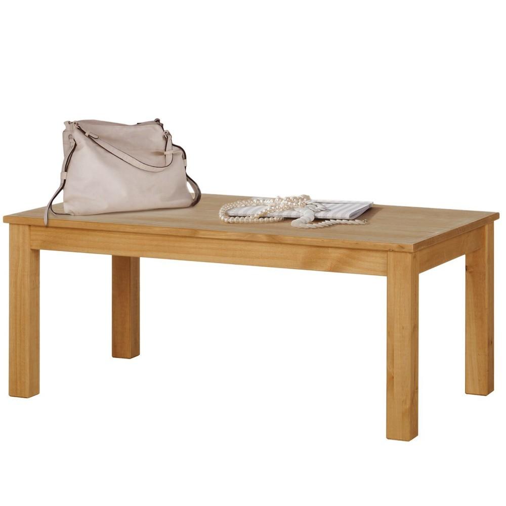 Prírodný konferenčný stolík z borovicového dreva Støraa Tommy