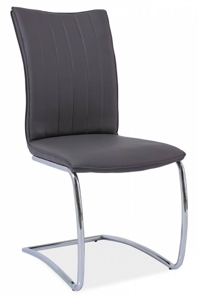 Jedálenská stolička HK-455, šedá