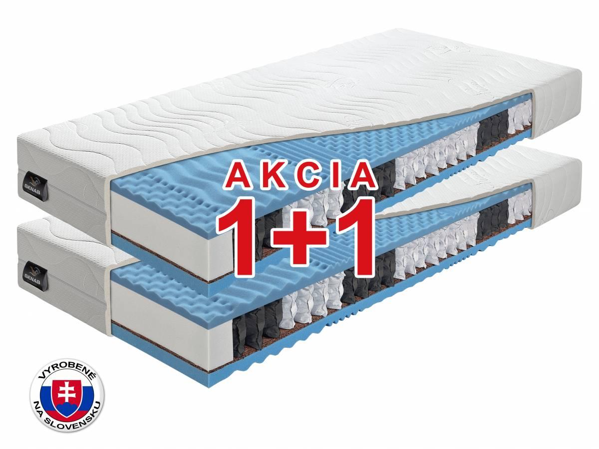 Taštičkový matrac Benab Fyzio Plus 2.0 200x90 cm (T3/T4) *AKCIA 1+1