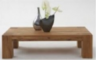 Furniture nábytok  Masívny konferenčný stolík  z Palisanderu  Lakšman I  60x60x40 cm