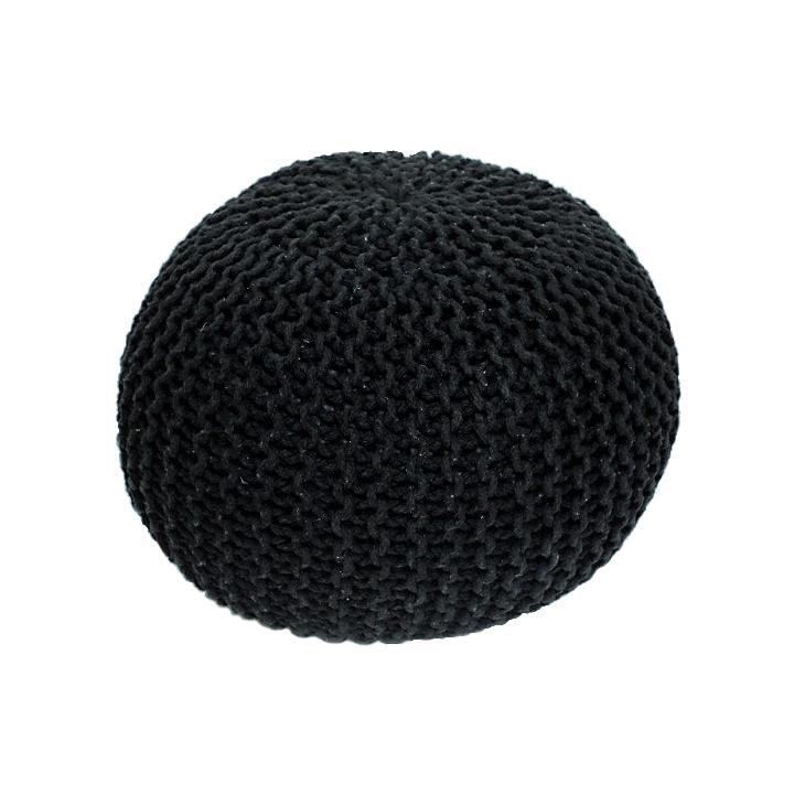 Taburetka Gobi Typ 2 (čierna)