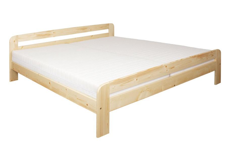 Bradop Manželská posteľ 180 x 200, masív smrek B454