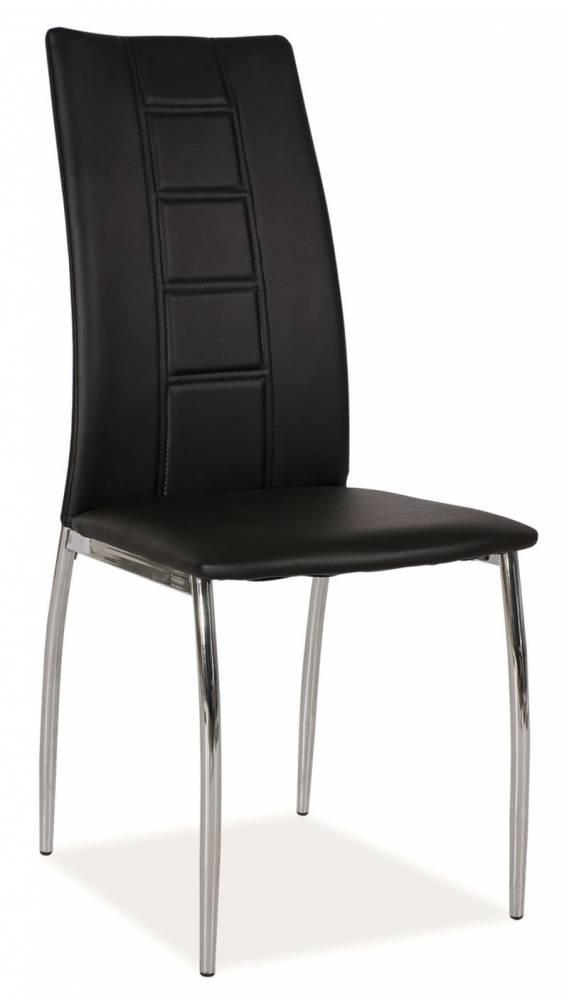Jedálenská stolička HK-880, čierna