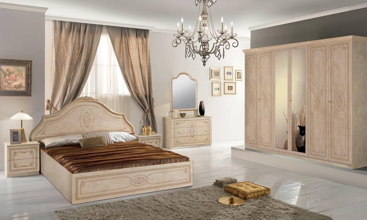 Spálňa FLORELLA - béžová