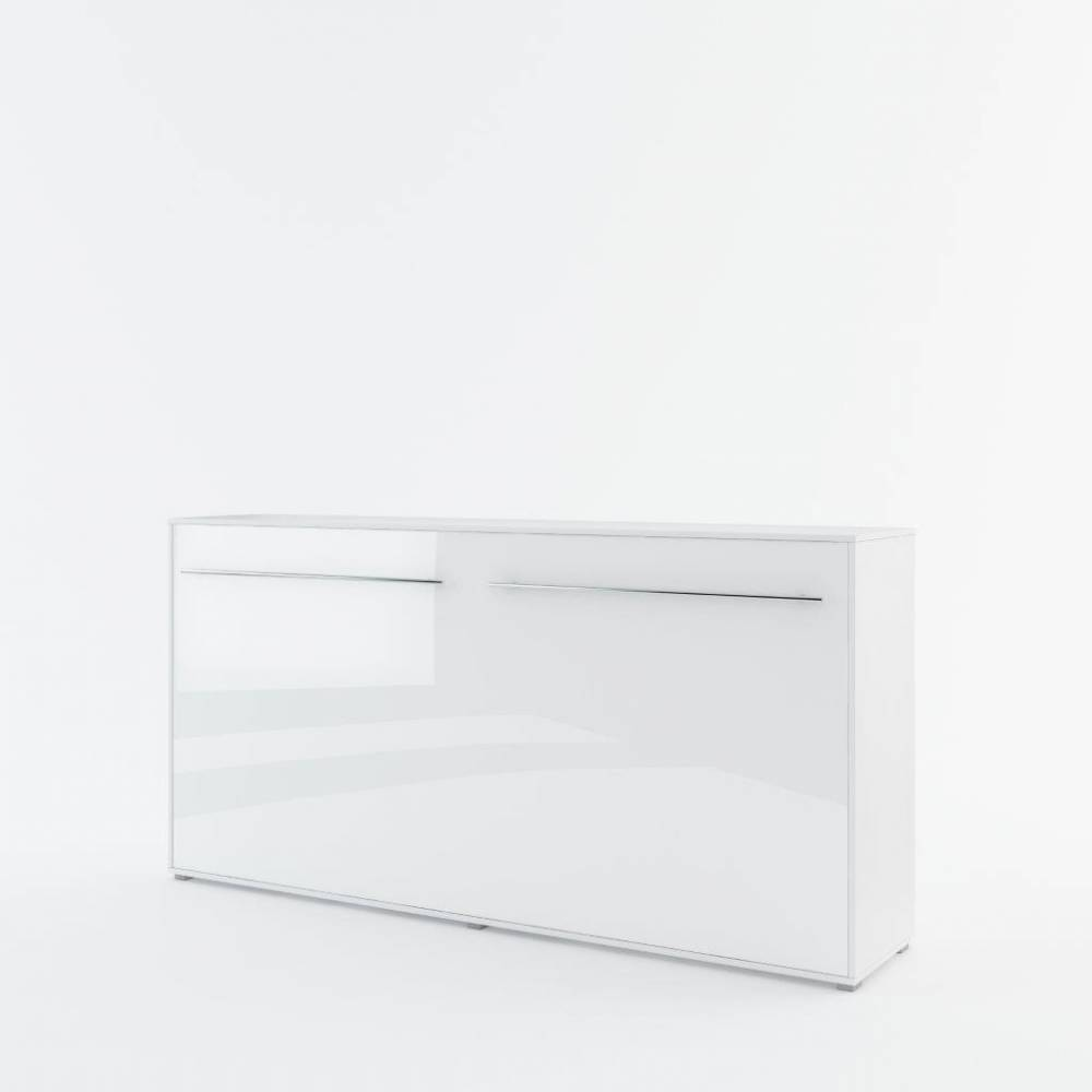 Sklápacia posteľ KOMFORT PRO CP-06, biely lesk