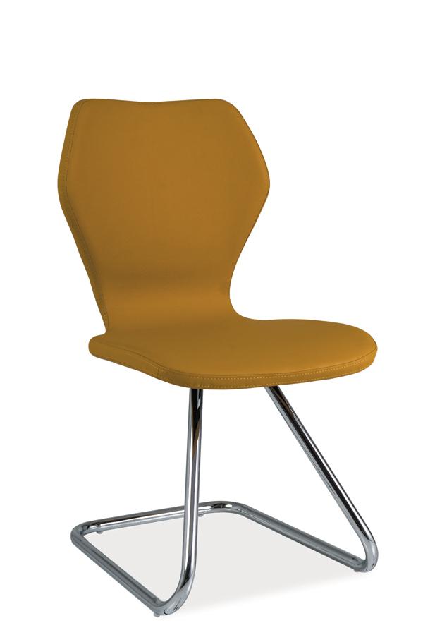 HK-677 jedálenská stolička, curry