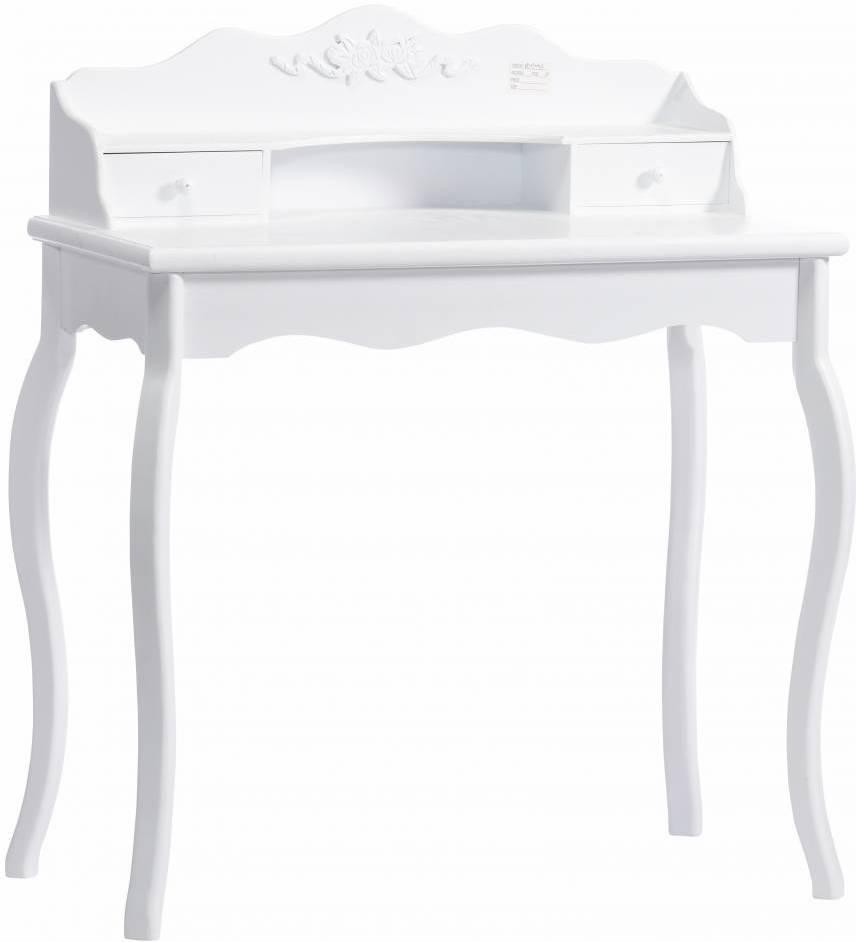 Toaletný stolík SHERATAN - biela