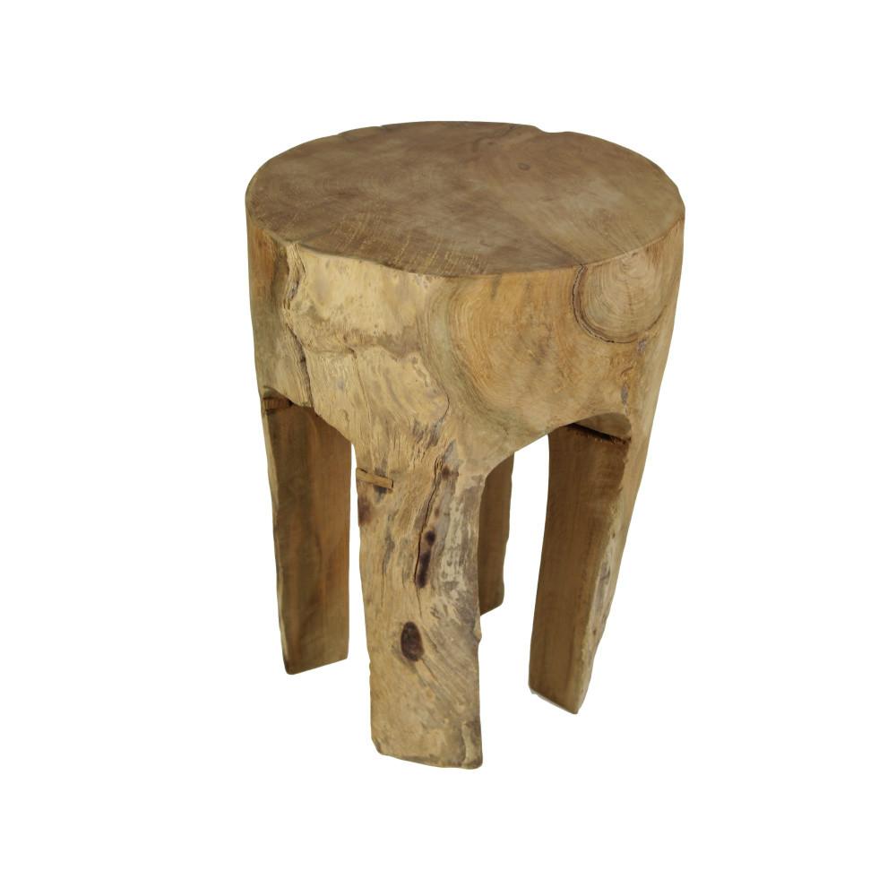 Stolička z dreva mungur HSM Collection Buldog