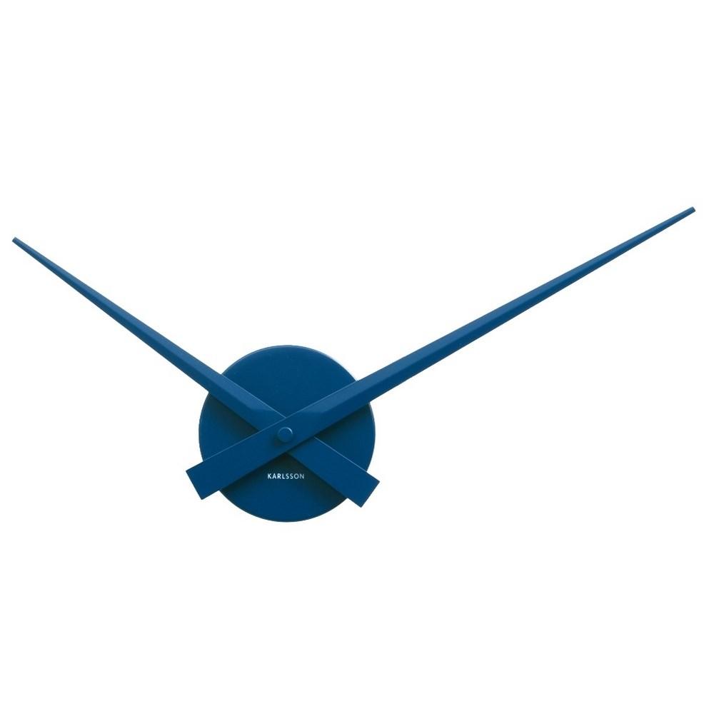 Karlsson 4348BL Designové nástenné hodiny, 44 cm