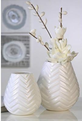 Váza TOA - biela