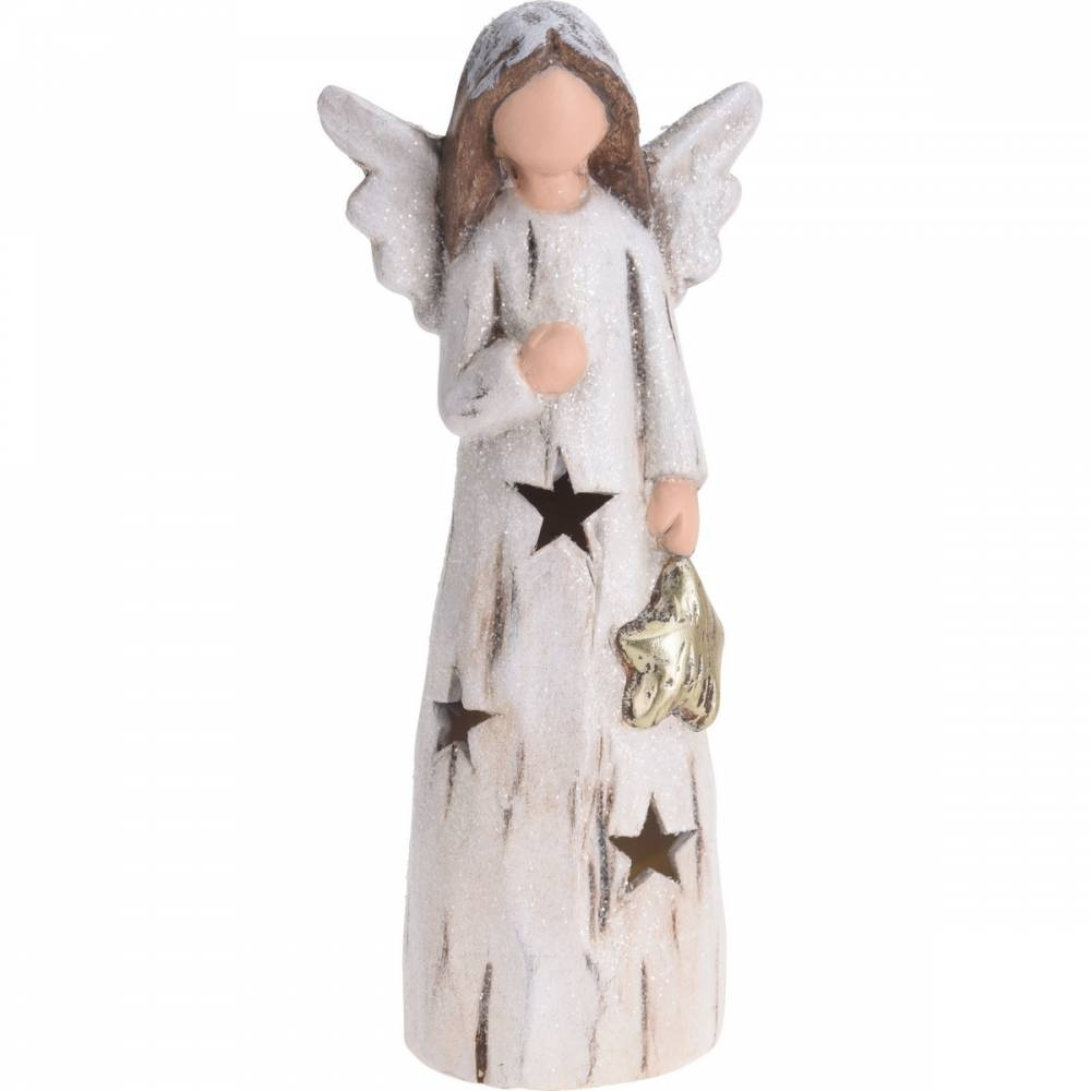Koopman Vianočný LED anjel Christmas guardian, 24 cm