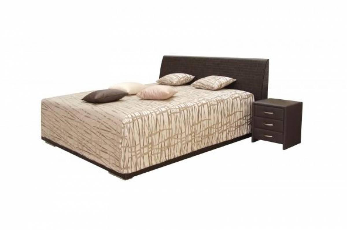 Manželská posteľ 180 cm Decodom Lipari (s roštom)