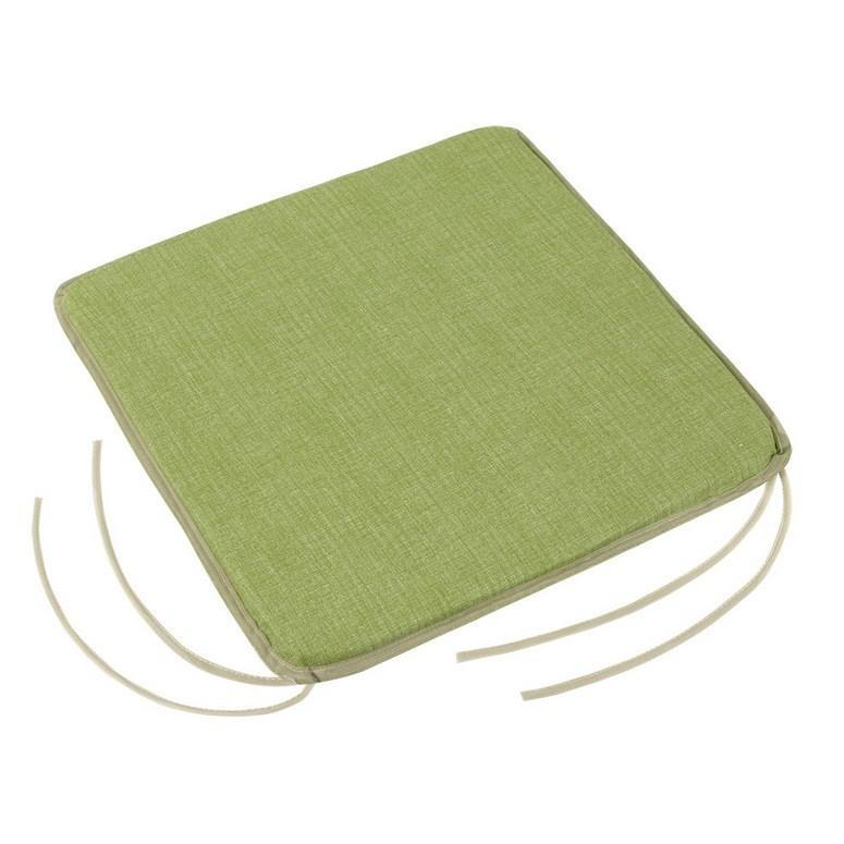 Bellatex Sedák Adela hladký UNI zelená, 40 x 40 cm