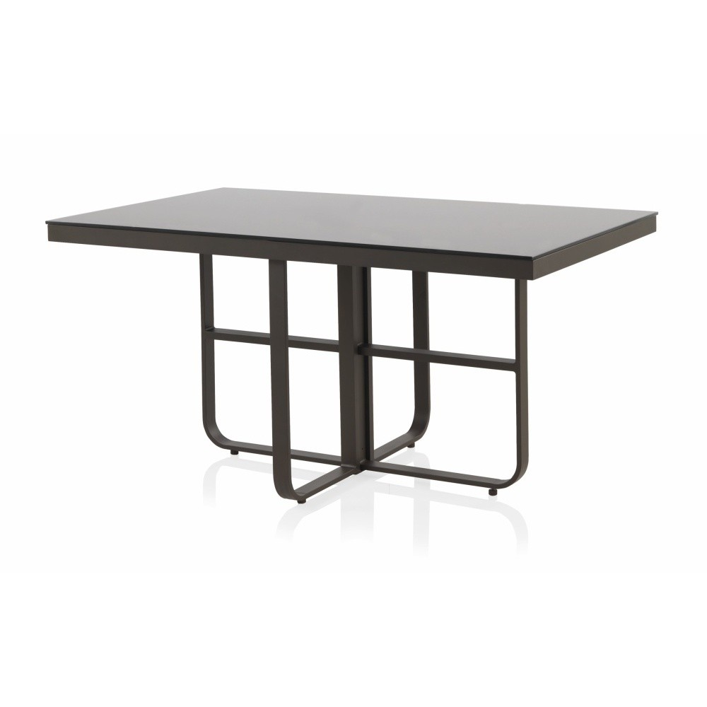 Záhradný jedálenský stôl Geese Onyx, 152 × 91 cm