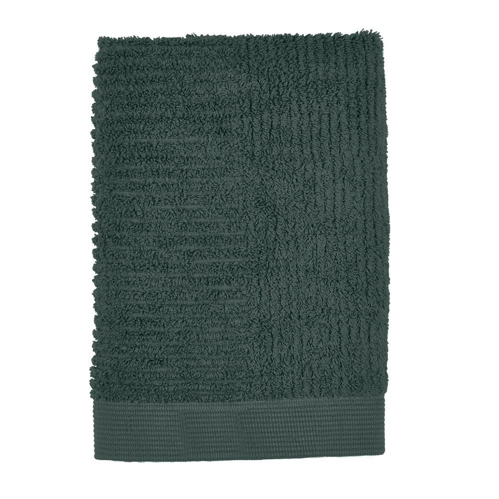 Tmavozelený uterák Zone Classic, 50 x 70 cm