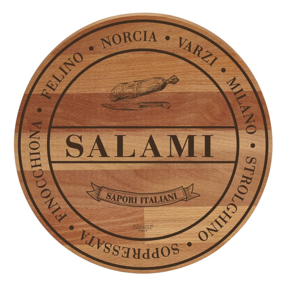 Doska z bukového dreva Broad Salami, 30 cm