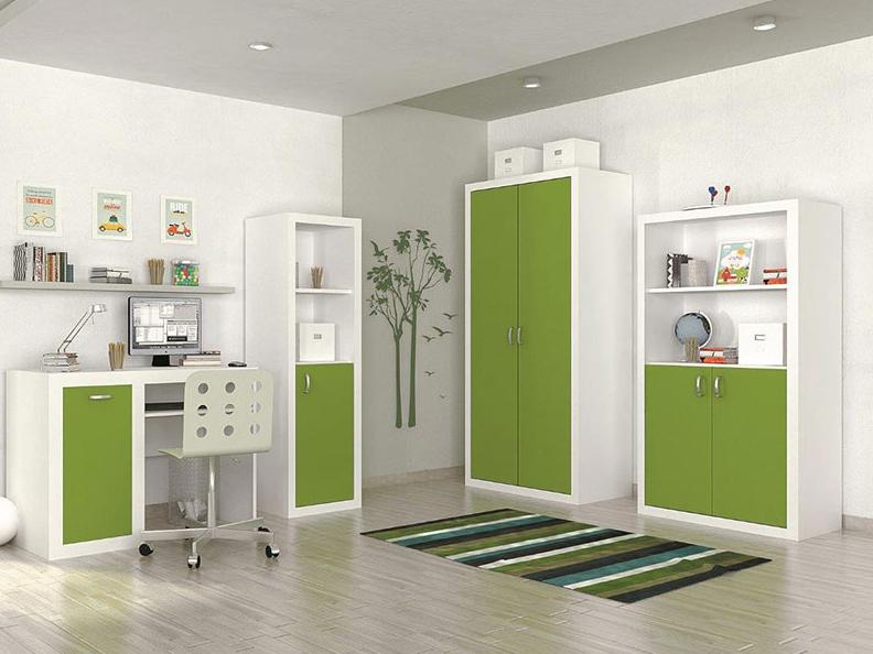 Detská izba FILIP / COLOR   Farba: biela / zelená