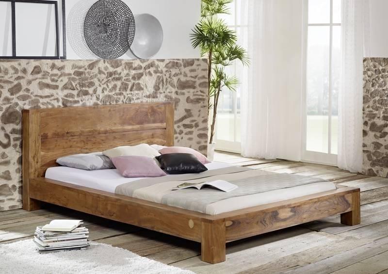 SHAMAN posteľ #203 agát, medová 140x200 cm