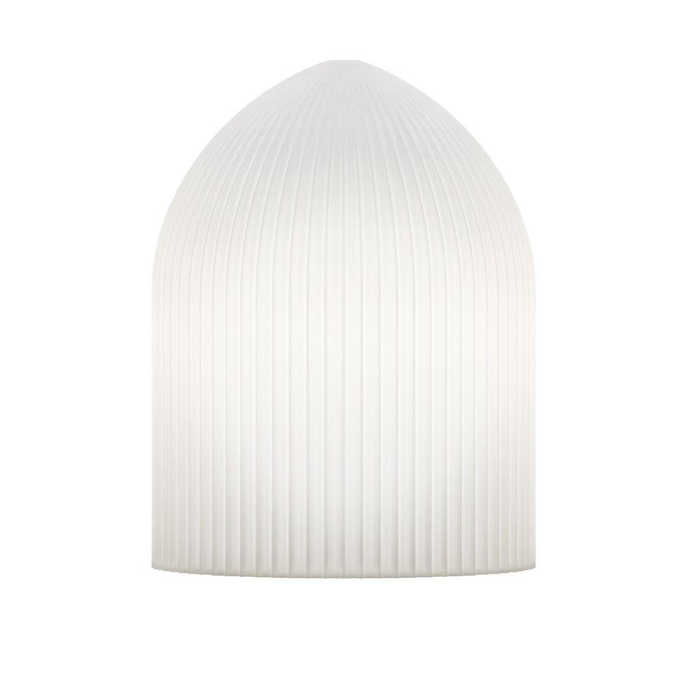 Biele stropné svietidlo Ripples Curve
