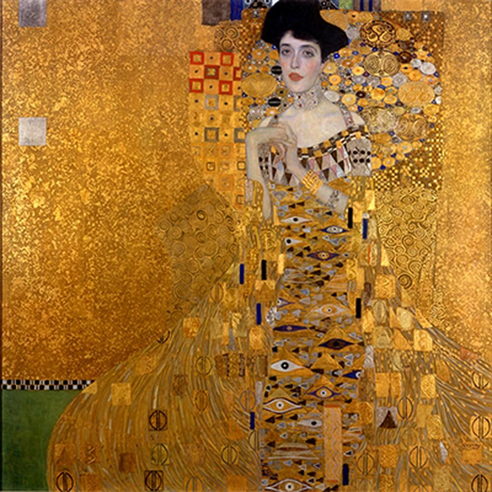 Obraz Gustav Klimt Adele Bloch-Bauer I, 80x80cm