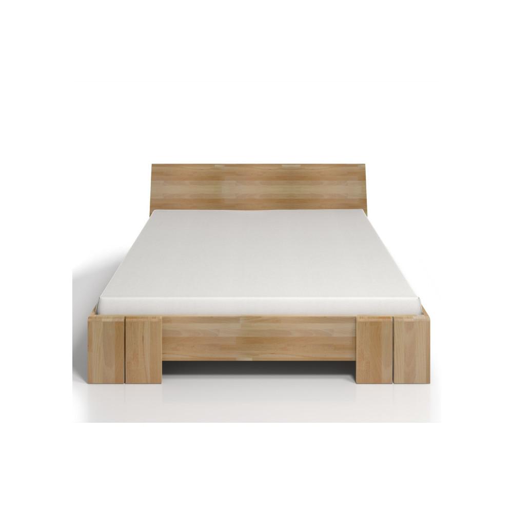 Dvojlôžková posteľ z bukového dreva SKANDICA Vestre Maxi, 140x200cm