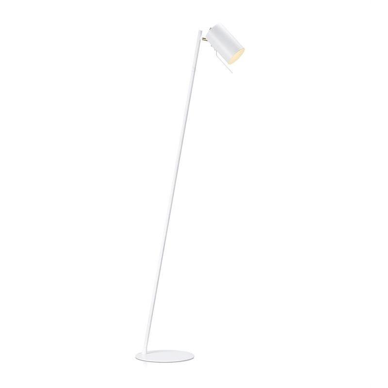 Biela stojacia lampa Markslöjd Carrie