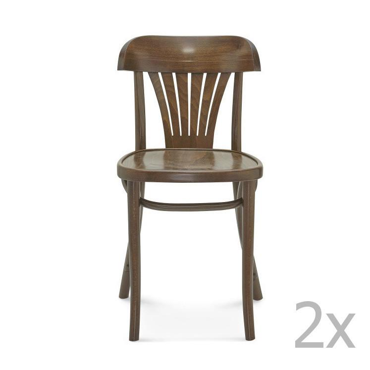 Sada 2 drevených stoličiek Fameg Mathias
