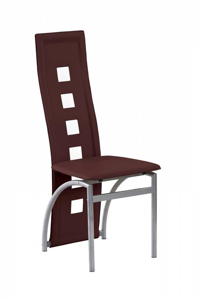 Jedálenská stolička K4 M tmavohnedá