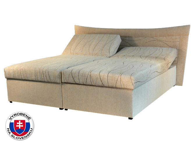 Manželská posteľ 180 cm Roma 2 (so sendvičovým matracom)
