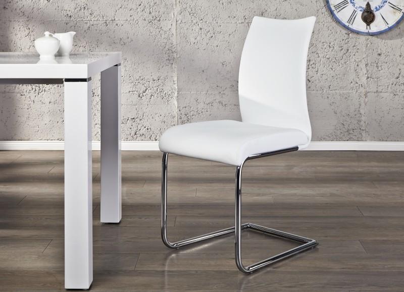 Stolička SUAVE - biela